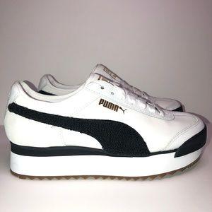 Women's Puma Roma Amor White /Black -Multi Sizes